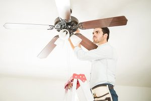 These ceiling fan air filters help to collect dust and allergens
