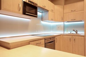 Give your kitchen some illumination with under-cabinet lighting
