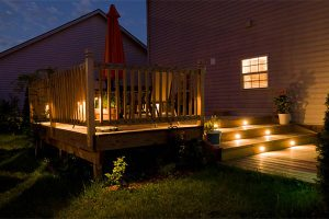 The 3 tiers of outdoor lighting for your back yard